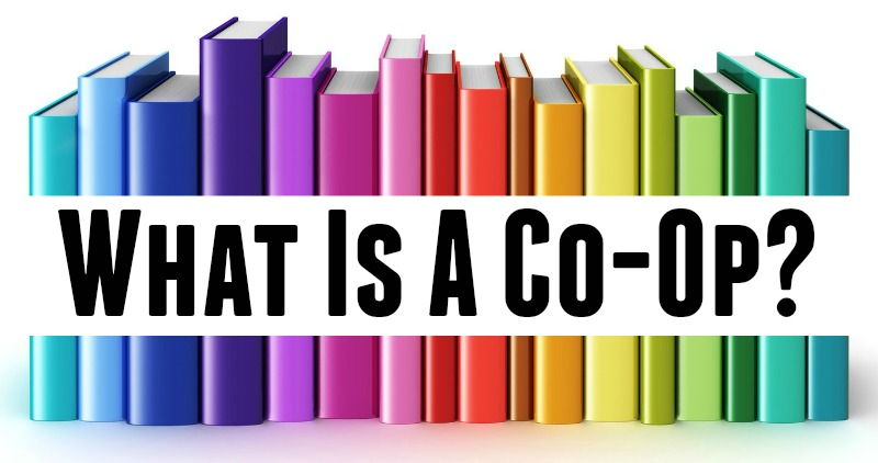 What is a co-op GRAPHIC